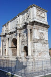 The Arch of Constantine (Arco di Costanti. The Arch of Constantine ( Arco di Costantino) in Rome Stock Photos