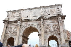 Arch of Constantine Arco di Costantino Stock Photo