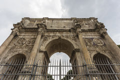 The Arch of Constantine. & x28;Arco di Costantino& x29;, Rome, Italy Royalty Free Stock Photography