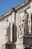 Arch of Constantine. Details of Arch of Constantine in Rome, Italy Royalty Free Stock Photo