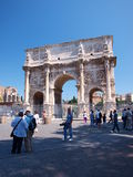 Arch of Constantine the Great, Rome, Italy. The Arch of Constantine the Great, Rome, Italy Royalty Free Stock Images