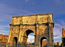 The Arch of Constantine the Great, Rome Royalty Free Stock Photo