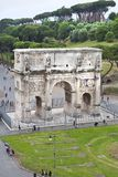 Arch of Constantine stock images