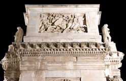 The arch of Constantine particular Stock Image