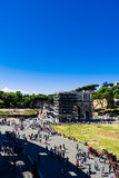 The Arch of Constantine is repairing Stock Photography