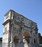 Arch of Constantine, Rome. The Arch of Constantine (Arco di Costantino), Rome, Italy Stock Photos