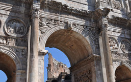 Arch of Constantine, Rome. The Arch of Constantine (Arco di Costantino), Rome, Italy Royalty Free Stock Photography