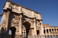 Arch of Constantine, Rome. Italy Royalty Free Stock Photos
