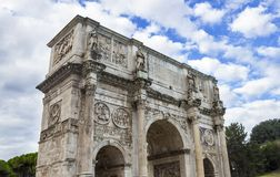 Arch of Constantine royalty free stock photo