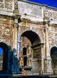 The Arch of Constantine in Rome. The Arch of Constantine, Rome Royalty Free Stock Photography