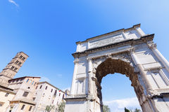 Arch of Constantine in Rome. Stock Images