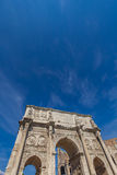 Arch of Constantine in Rome. Detail of Arch of Constantine in Rome, Italy Royalty Free Stock Images