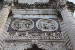 Arch of Constantine in Rome Stock Images