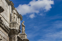 Arch of Constantine in Rome. Detil from Arch of Constantine in Rome, Italy Stock Photography