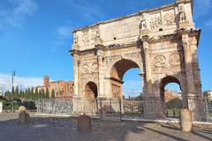 Arch of Constantine. Rome, Italy. Royalty Free Stock Image