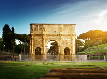 Arch of Constantine, Rome. Italy Royalty Free Stock Photo