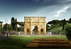 Arch of Constantine, Rome, italy Royalty Free Stock Images