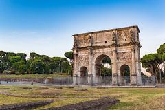 Arch of Constantine - Rome - Italy. Arch of Constantine at Rome - Italy Stock Image