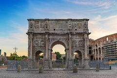 Arch of Constantine - Rome - Italy. Arch of Constantine at Rome - Italy Stock Images