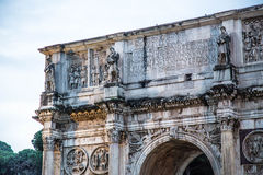 Arch of Constantine. Rome, Italy Royalty Free Stock Image