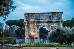 Arch of Constantine. Rome, Italy Stock Photos
