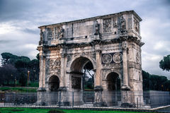 Arch of Constantine. Rome, Italy Stock Images