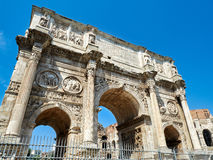 Arch Constantine Rome Italy Royalty Free Stock Images