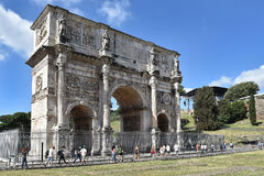 Arch of Constantine, Rome Stock Images