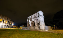 Arch of Constantine. Rome, Italy.  Stock Photos