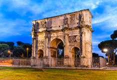 Arch of Constantine, Rome, Italy Stock Images