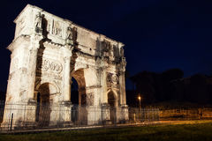 Arch of Constantine in Rome. Italy Royalty Free Stock Image