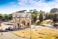 Arch of Constantine, Rome, Italy Royalty Free Stock Image