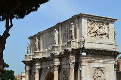 Arch of Constantine rome. Italy near colosseum Royalty Free Stock Photography