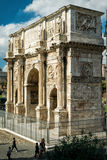 The Arch of Constantine in Rome. The Arch of Constantine, near Coliseum, in Rome, Italy Royalty Free Stock Photo