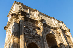 Arch of Constantine in Rome. Side view of the Arch of Constantine, Rome Italy Stock Images