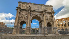 Arch of Constantine Rome stock video
