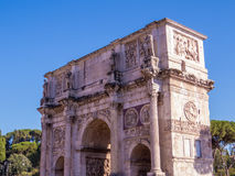 Arch of Constantine, Rome. The triumphal Arch of Constantine. In Rome, Italy Royalty Free Stock Photography