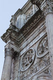 Arch of Constantine - Rome Royalty Free Stock Photography