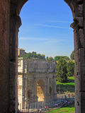 Arch of Constantine 3 Stock Images