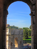 Arch of Constantine 1 Stock Image
