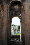 Arch of Constantine. View from the Colosseum Stock Image