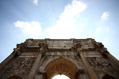 Arch of Constatine. A photo of the arch of constatine Stock Photo