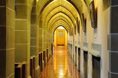 Arch and corridor Royalty Free Stock Photos