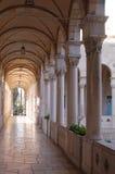 Arch corridor. In Jerusalem, Israel Stock Photo