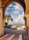 Arch at Cortijo Cabrera Royalty Free Stock Photography