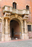 Arch in the courtyard of the Palazzo del Capitano, Verona Royalty Free Stock Photo