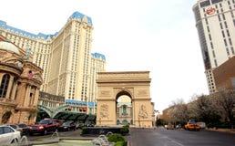 Arch de Triomphe, Παρίσι, Λας Βέγκας Στοκ Φωτογραφίες