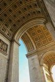 Arch de Triomphe, France de Paris Images libres de droits
