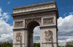 Arch of Triumph Paris Stock Images