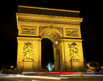 Arch de Triumph, Paris, France Photos stock